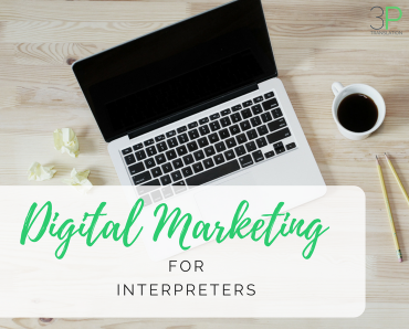 Digital marketing for interpreters