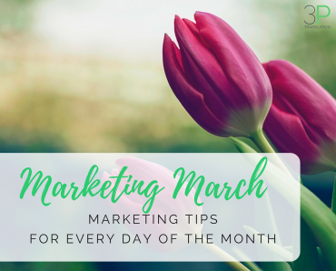 #MarketingMarch: marketing tips for every day of the month