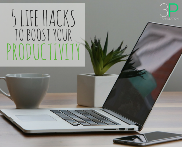 5 Life Hacks to Boost your Productivity