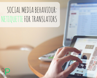 Social media behaviour: netiquette for translators