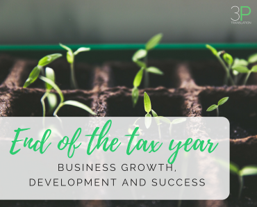 End of the tax year: business growth, development and success