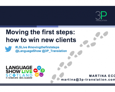 Moving the first steps: how to win new clients